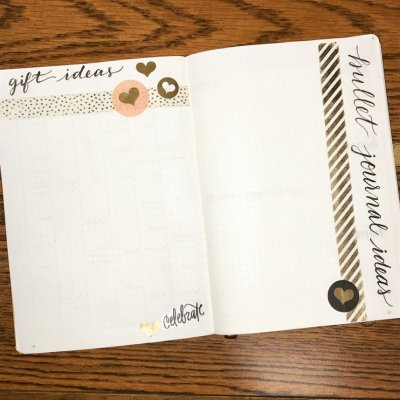 2018 Year Gift and BuJo Ideas