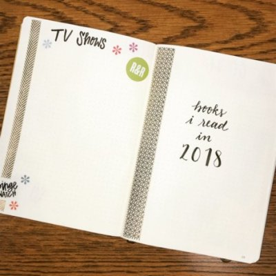 2018 Year TV and Books